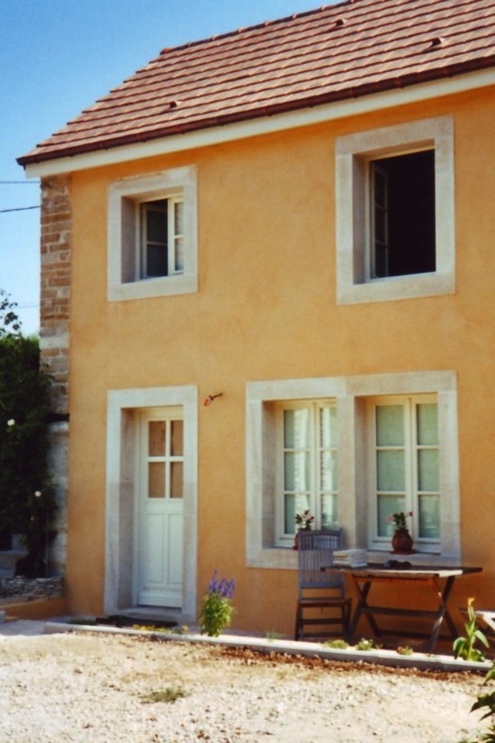 En haut Encadrement de porte et de fenêtre neuf en pierre de Bourgogne &DF_12
