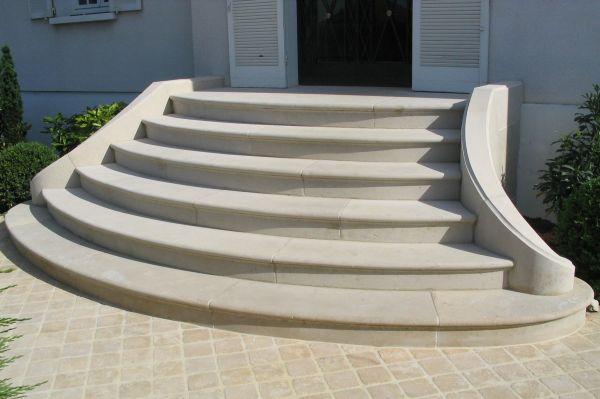 restauration d 39 un escalier massif double limon en pierre. Black Bedroom Furniture Sets. Home Design Ideas