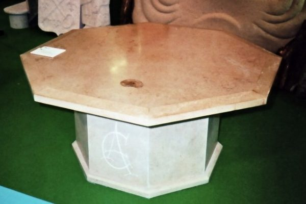 Table basse octogonale