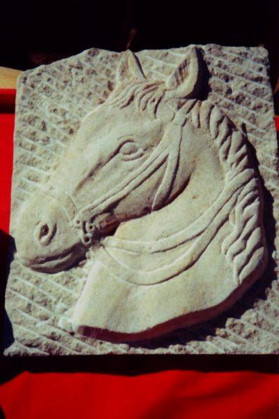 Blason tête de cheval