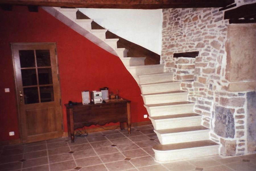 Escalier Couchey