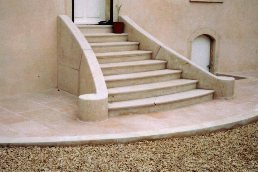 Escalier Corton coquillé