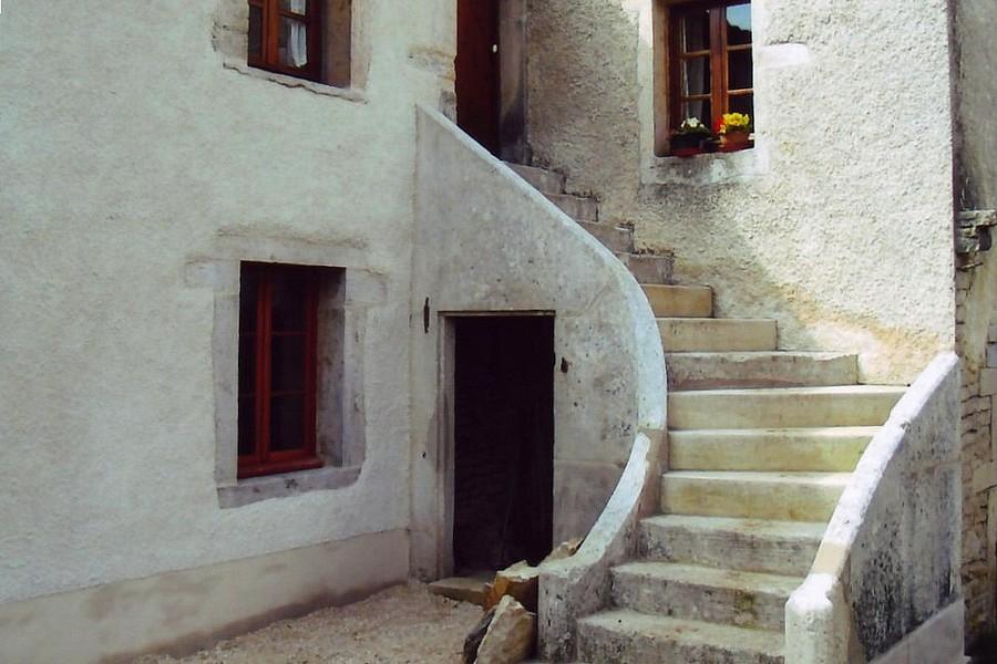 Escalier Curtil : restauration