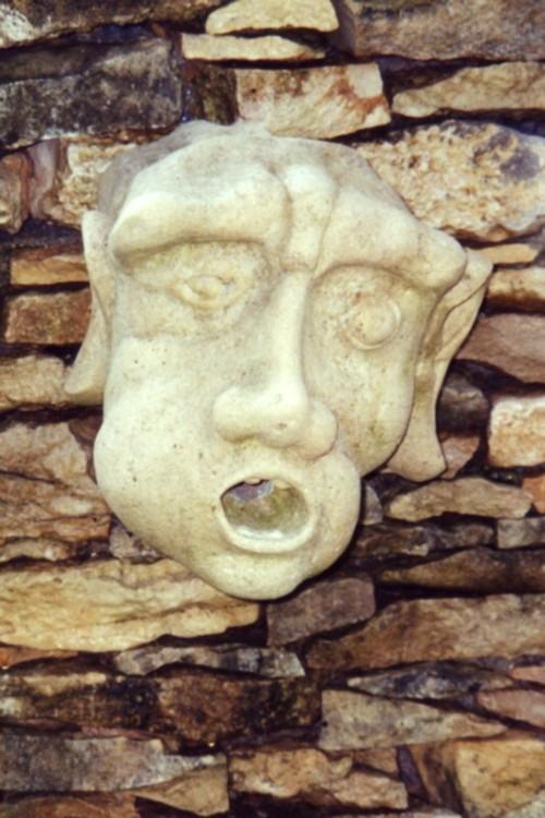 Sculpture Géronimo